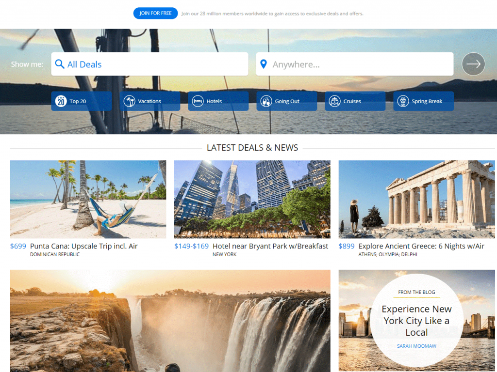 Top 5 Websites To Find The Best Travel Deals