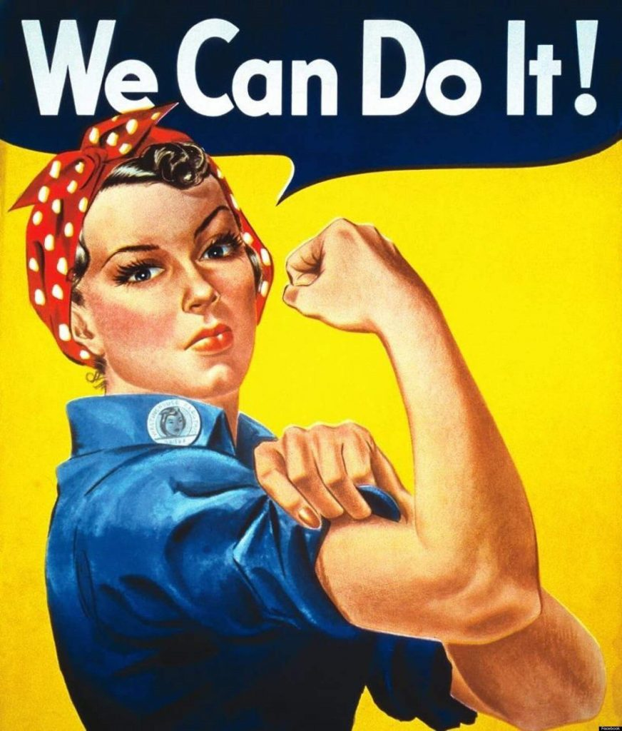 we can do it women
