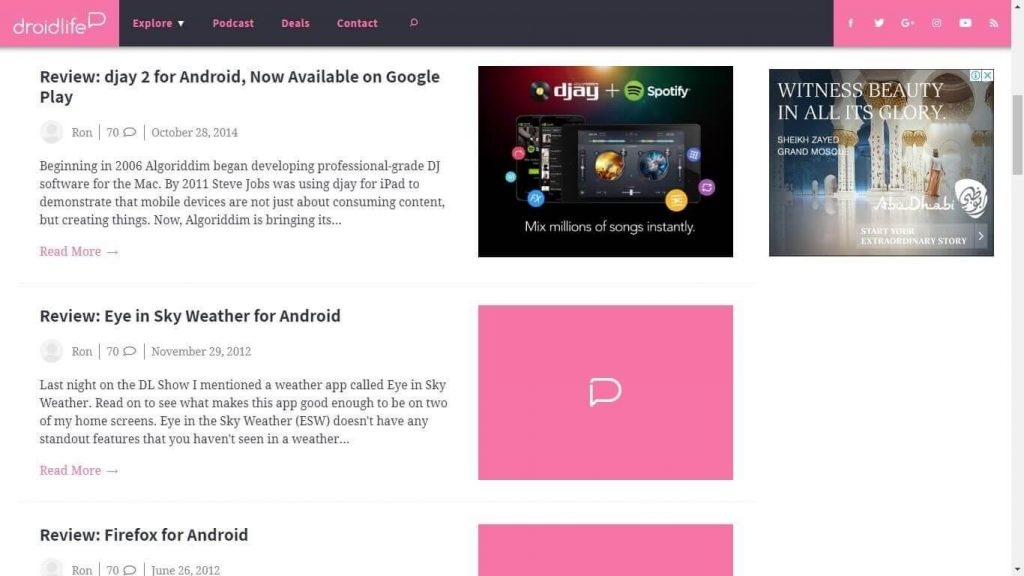 Android App Review Websites