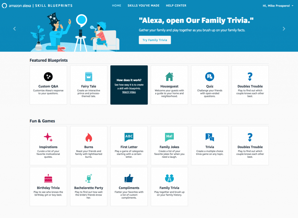 Steps to Create Alexa Skills of Your Own-1
