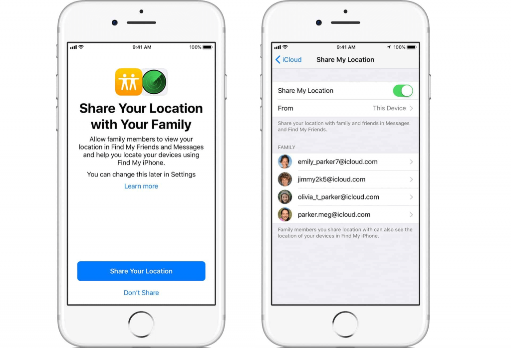 Track your Kids with Find My Friends