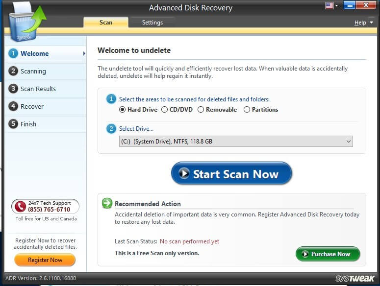 advanced disk recovery software