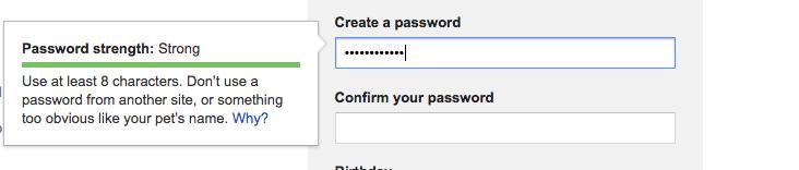 create a strong amazon password