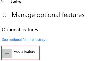 Add a feature