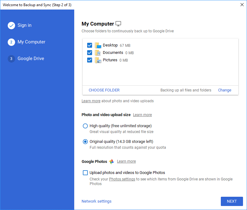 Backup Your Computer Data to Google Drive 6