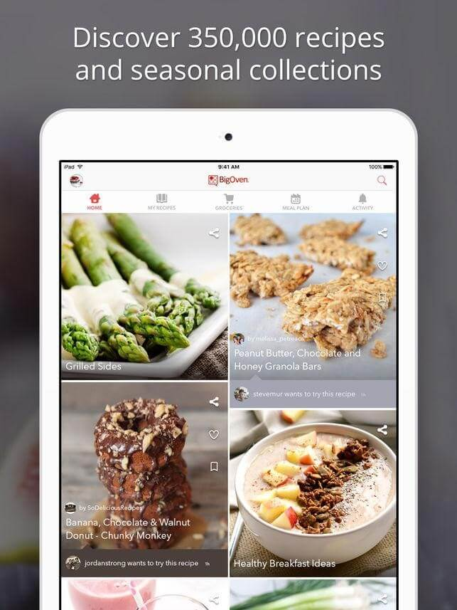 Big Oven- best grocery app
