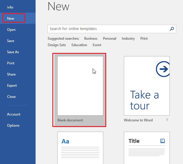 Create a blank document-2