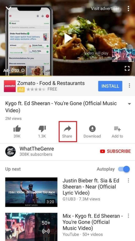 Download Videos from YouTube on iPhone 1