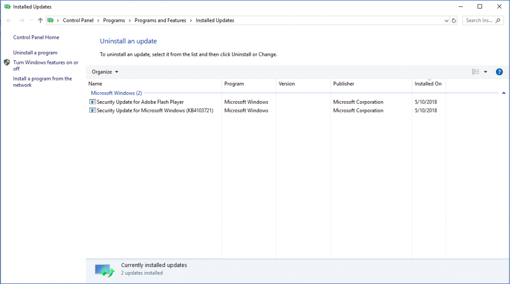 Go Back To Windows 10 Spring Creators Update-4