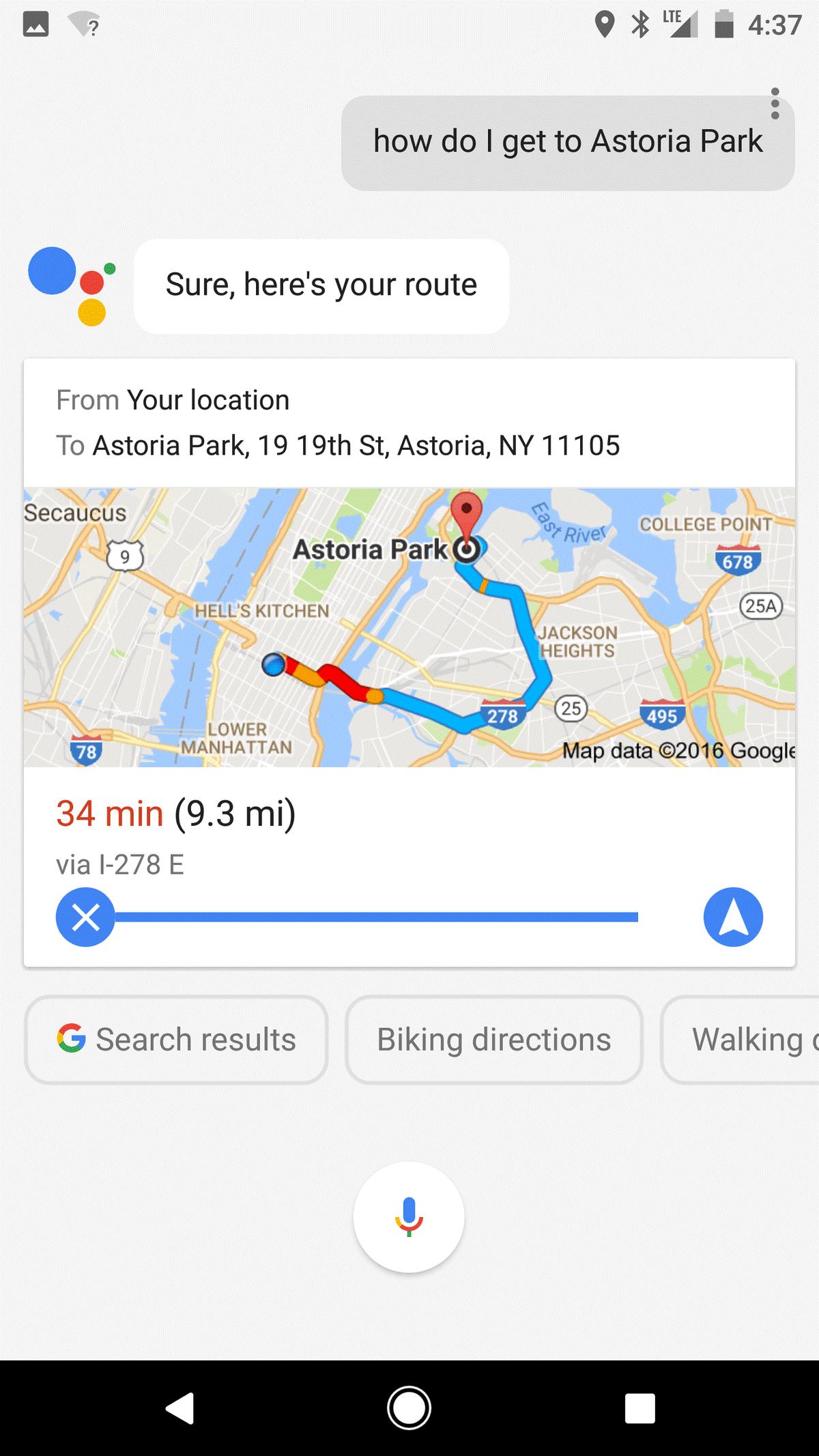 Google Maps Gets Google Assistant