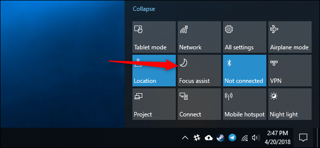 How to Enable the Focus Assist Feature on Windows 10-2