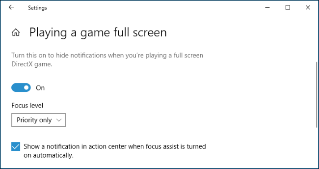 How to Set Schedules on Focus Assist-3