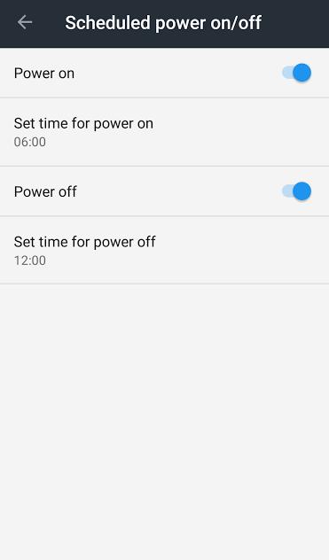 Set Auto Shutdown In Android Nougat Phones