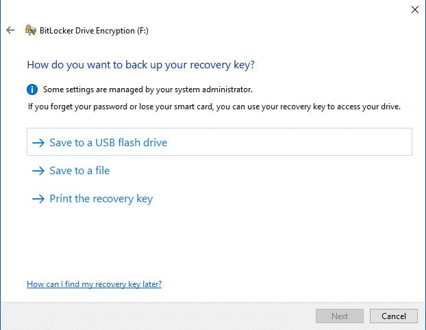 Steps To Encrypt A USB Flash Drive 5