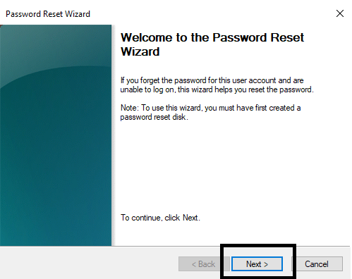Use a Password Reset Disk-3