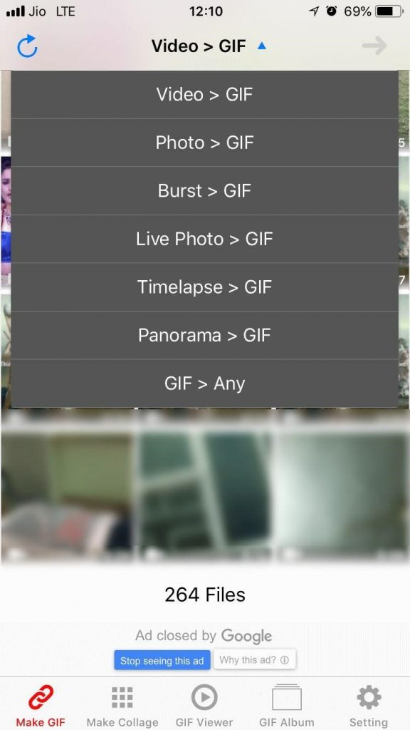 capture burst shot from your iPhone