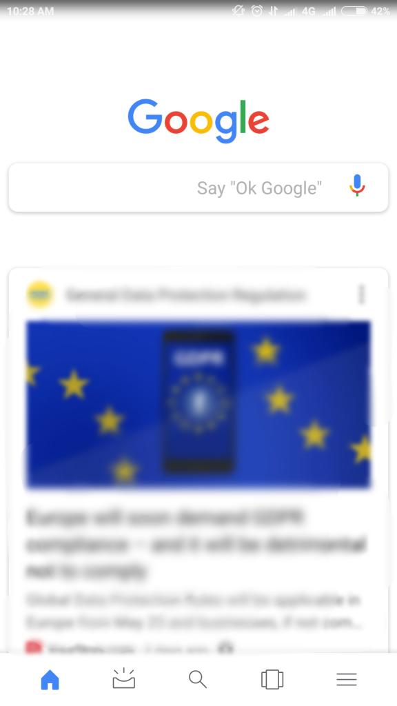 check google microphone