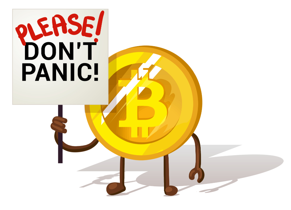 dont panic to invest in blockchain