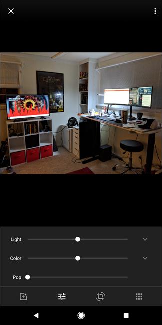 video editing in google photos