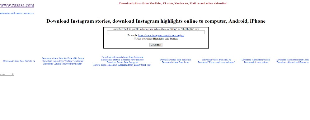 how to download highlights instagram