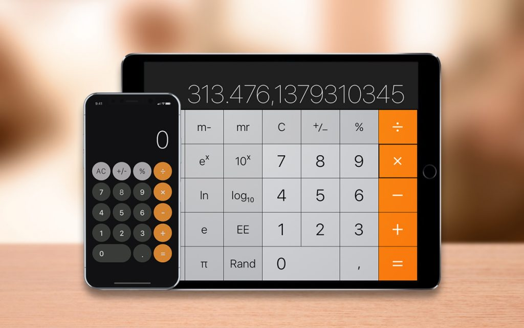 10 Best Calculator App For iPad And iPhone 2018