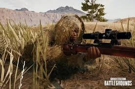 8x CQBSS Scope and Ghillie Suit Are The Key For Winner Winner Chicken Dinner