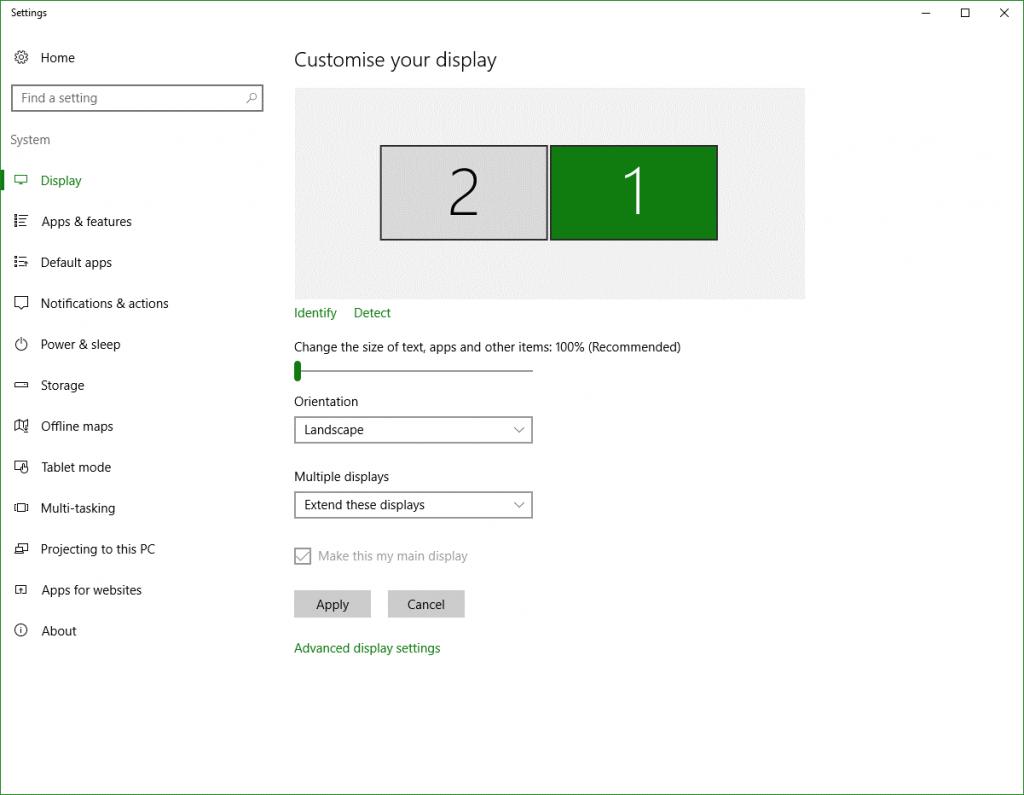 Configure Display Settings on Dual Display-3