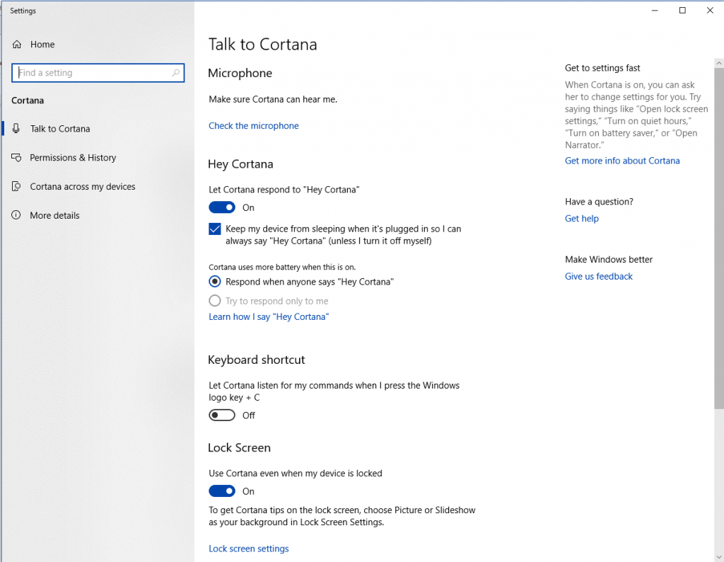 Disable Cortana Completely -1