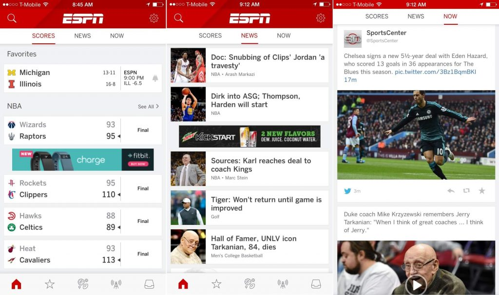 ESPN- FIFA apps 2018