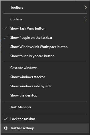 Hide the Taskbar on Multi-Displays-2