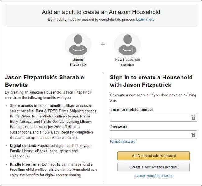 How to Enable Amazon household on Your Account-3