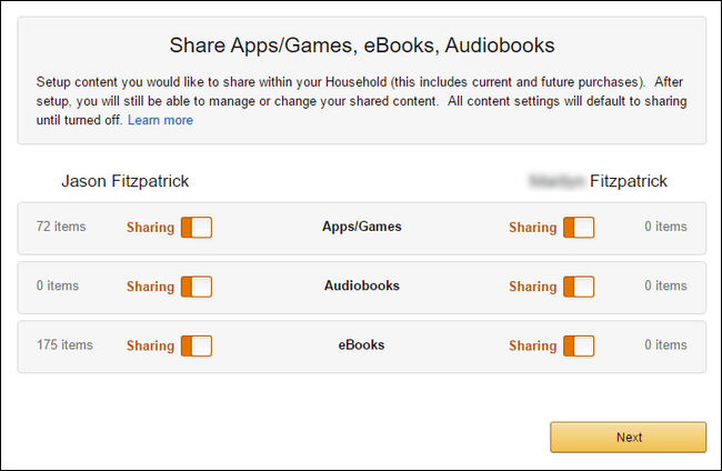 How to Enable Amazon household on Your Account-5