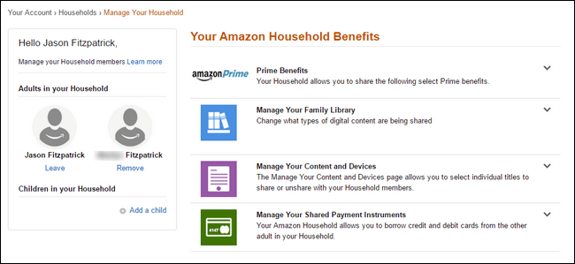 How to Enable Amazon household on Your Account-7