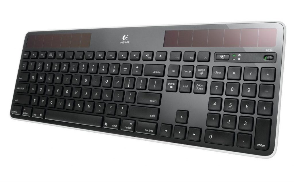 Logitech Solar Wireless Keyboard