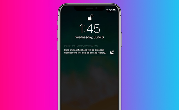 How To Turn Off Notifications To Prevent Distraction At Night on iOS 12?