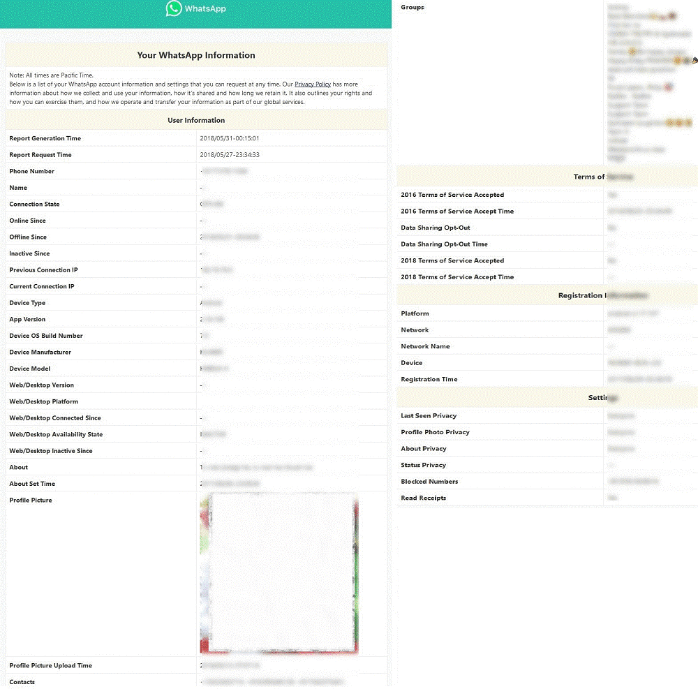 What Data Does WhatsApp Account Information Report Contain-3
