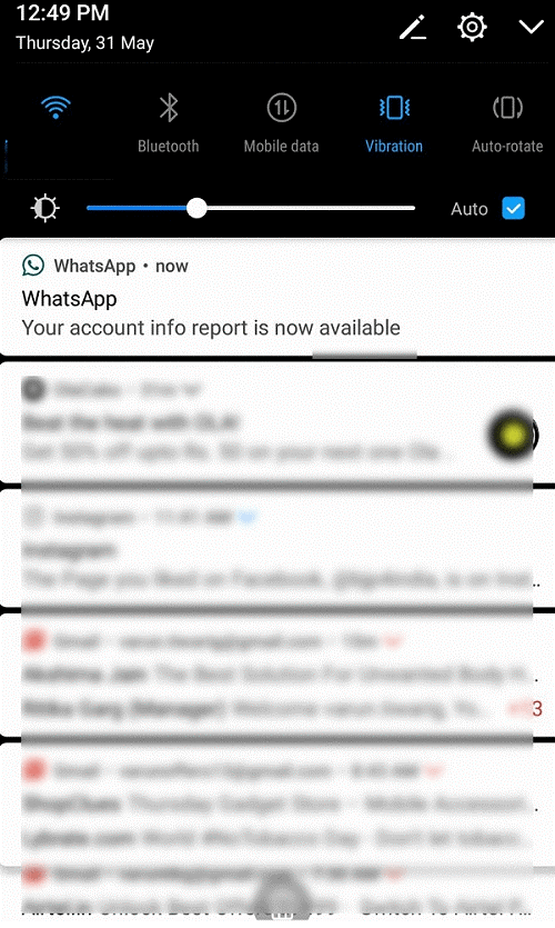 What Data Does WhatsApp Account Information Report Contain