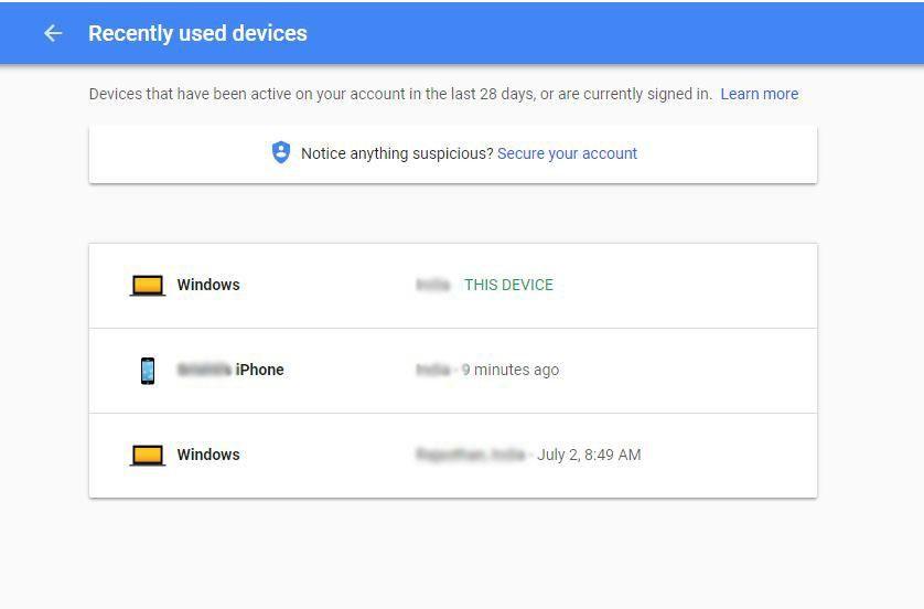 Access Google Dashboard