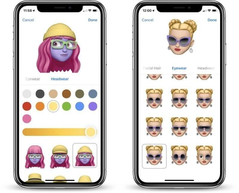 Memoji on iOS 12