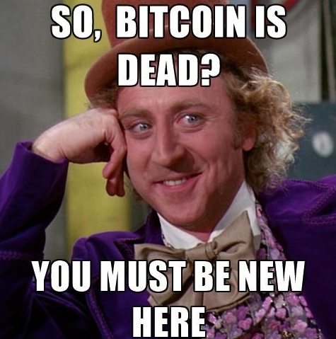 Bitcoin is about to die