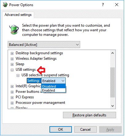 Change USB Selective Suspend Setting-4