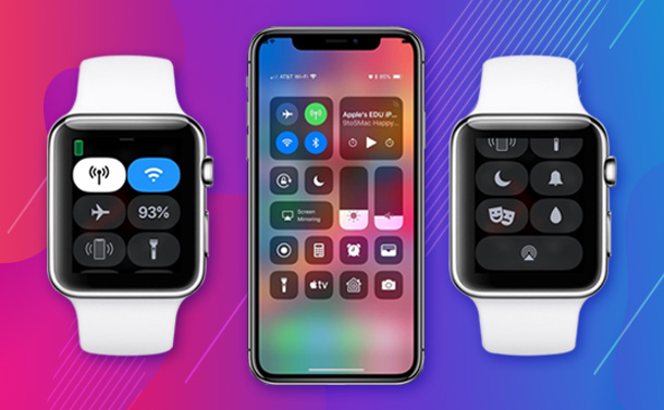 How to Customize the Control Center in watchOS 5?