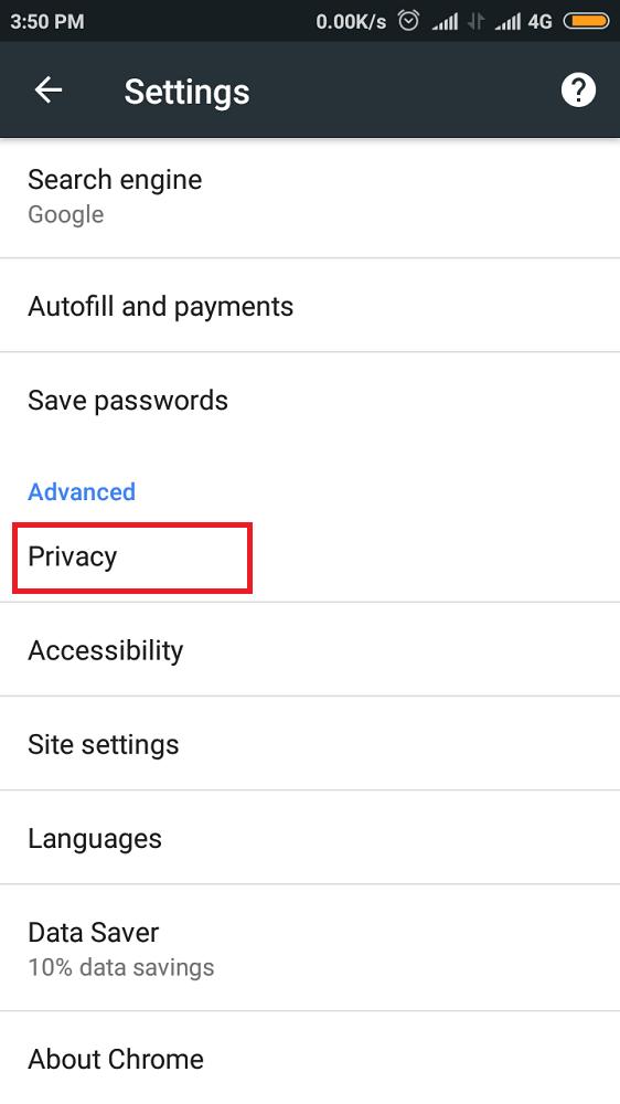 Enable Safe Browsing