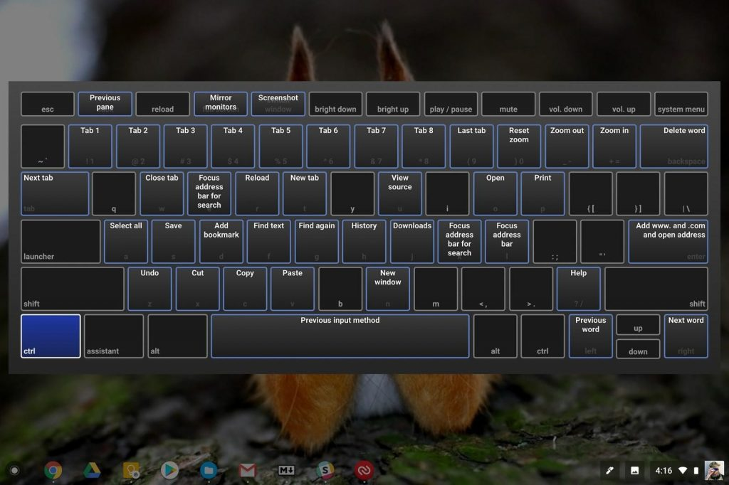 Learn all Your Keyboard Shortcuts for Easy Access