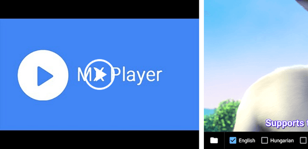 MX Player android tv apps