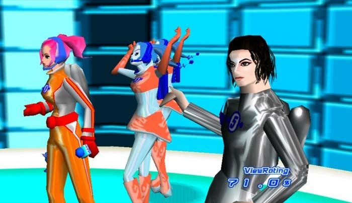 Michael Jackson (in Space Channel 5)