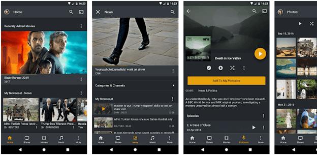 Plex android tv apps