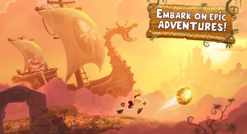 Rayman Series game for android