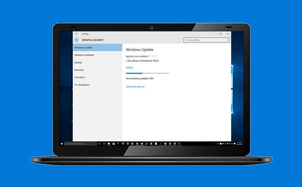 Windows 10 Update Stuck or Frozen - How to Fix It?