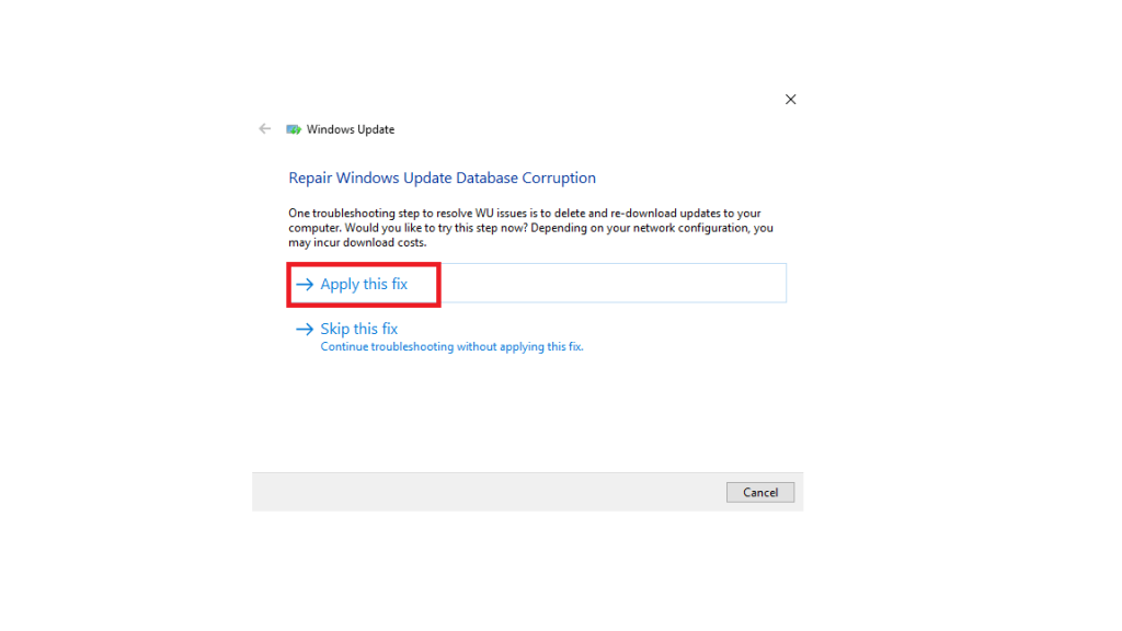 Try running Windows Update Troubleshooter-5
